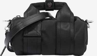 DIESEL Дамска чанта 'CAYAC' в черно / сребърно, Преглед на продукта