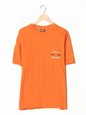 Harley Davidson T-Shirt in L-XL in Orange