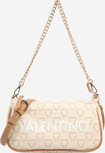 Valentino Bags Axelremsväska 'Liuto' i beige / grå / vit, Produktvy