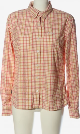 ODLO Langarmhemd in M in creme / pastellgelb / rot, Produktansicht