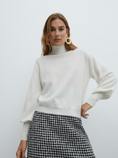 EDITED Pullover  'Lillian' in weiß, Modelansicht