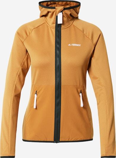 adidas Terrex Athletic Jacket in Cognac / Black, Item view