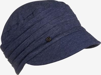 LOEVENICH Jersey Kappe ' Gerafft ' in blau / blue denim, Produktansicht