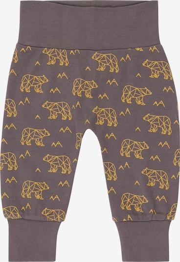 Sense Organics Pants 'Sjors' in Dark brown / yellow gold, Item view