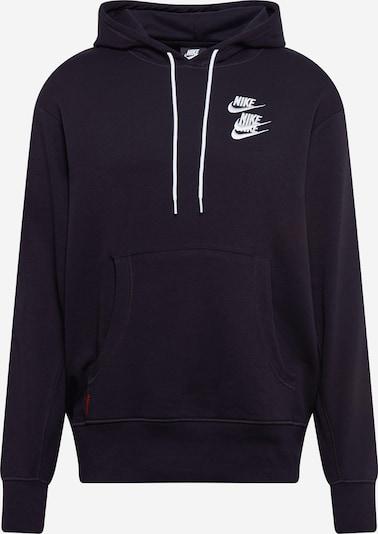 Nike Sportswear Sweatshirt in Orange / Black / White: Frontal view