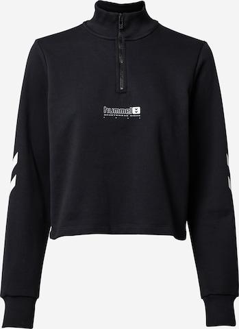 Hummel Αθλητική μπλούζα φούτερ 'NIKKA' σε μαύρο