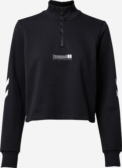 Hummel Athletic Sweatshirt 'NIKKA' in Black / White, Item view