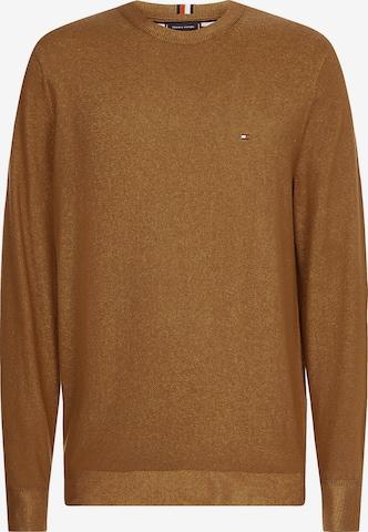 TOMMY HILFIGER Pullover in Braun