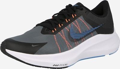 NIKE Športová obuv 'ZOOM WINFLO 8' - svetlomodrá / tmavosivá / oranžová / čierna, Produkt