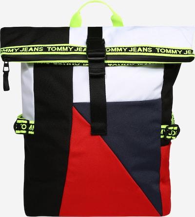 Tommy Jeans Plecak w kolorze granatowy / neonowo-żółty / czerwony / białym, Podgląd produktu