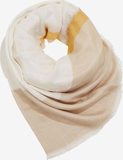 ESPRIT Écharpe en beige / jaune / blanc, Vue avec produit