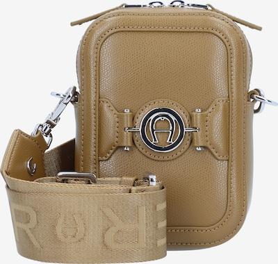 AIGNER Luana Handytasche Leder 13 cm in greige, Produktansicht