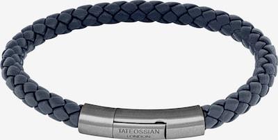 Tateossian London Armband 'Charles' in taubenblau / silber, Produktansicht