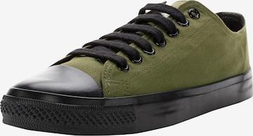 Ethletic Sneakers 'Fair Trainer Black Cap Low Cut' in Green