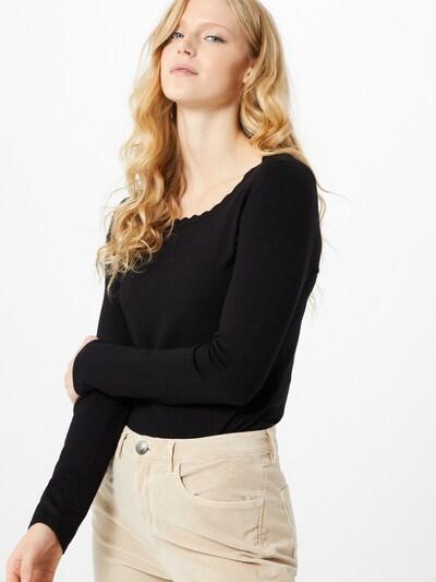 s.Oliver BLACK LABEL Pullover in schwarz, Modelansicht