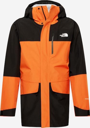 THE NORTH FACE Jacke 'DRYZZLE ALL WEATHER' in orange / schwarz, Produktansicht