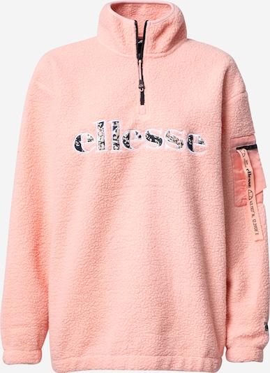 ELLESSE Sweat-shirt en corail / noir / blanc, Vue avec produit