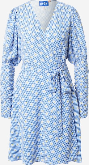 Crās Kleid 'Margueritecras' in himmelblau / gelb / weiß, Produktansicht