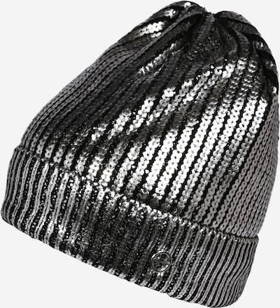 TAMARIS Čepice - černá / stříbrná, Produkt
