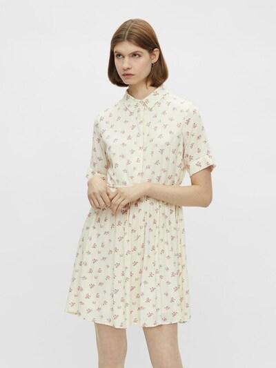 Rochie tip bluză 'THEA' PIECES pe verde / verde pastel / roz / alb, Vizualizare model