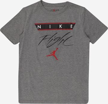 T-Shirt 'FLIGHT HISTORY' Jordan en gris
