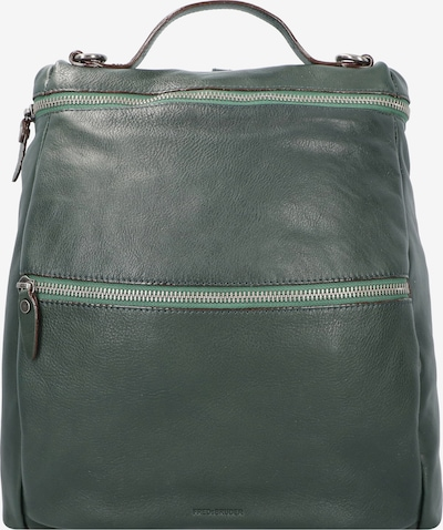 FREDsBRUDER City Rucksack in grün, Produktansicht