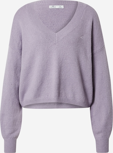 HOLLISTER Sweater in Pastel purple / White, Item view