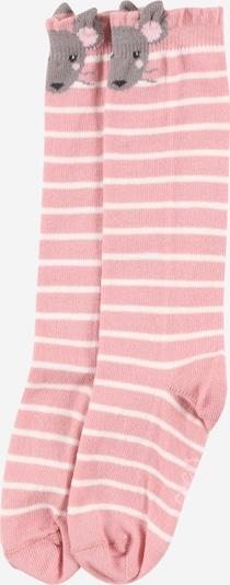 EWERS Sokken in de kleur Grijs / Rosa / Wit, Productweergave