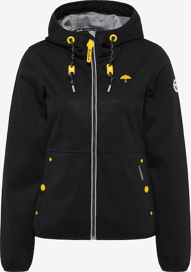 Schmuddelwedda Performance Jacket in Yellow / mottled grey / Black, Item view