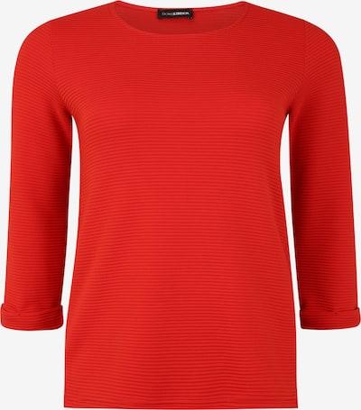 Doris Streich Pullover mit Krempelärmel in rot, Produktansicht