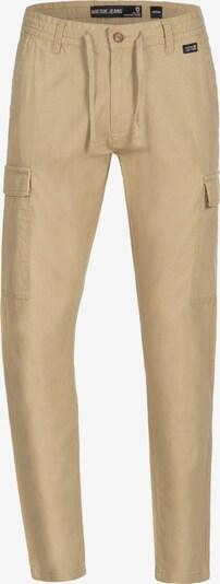 INDICODE JEANS Pantalon cargo 'Cagle' en marron: Vue de face