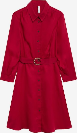 MANGO Košeľové šaty 'Cros' - rubínová, Produkt
