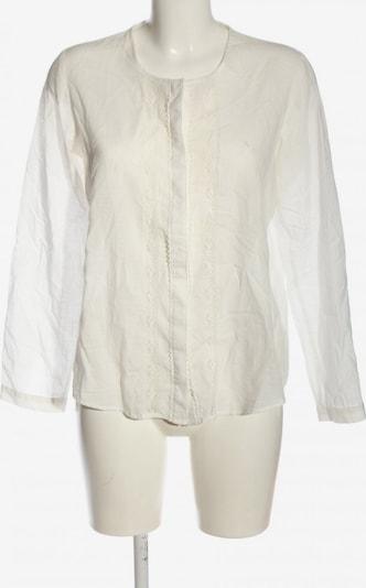 ZARA Blusenshirt in S in weiß, Produktansicht