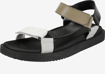 Ekonika Sandals in Black