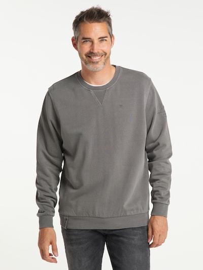 PIONEER Sweatshirt in de kleur Grijs: Vooraanzicht
