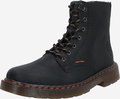 RIEKER Čizme sa vezicama u crna, Pregled proizvoda