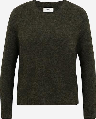 OBJECT Petite Pullover 'Nete' in dunkelgrün, Produktansicht