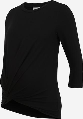 MAMALICIOUS Shirt 'MACY' in Black