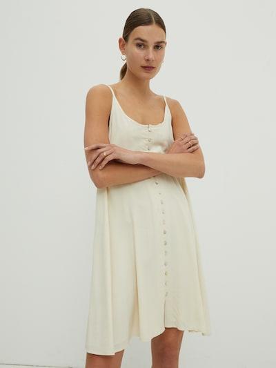 EDITED Kleid 'Dayana' in beige, Modelansicht