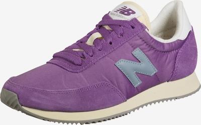 new balance Baskets basses '720' en bleu / gris clair / violet, Vue avec produit