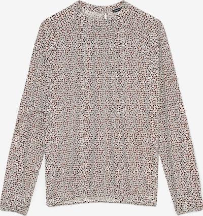 Marc O'Polo Shirt in braun / weiß, Produktansicht