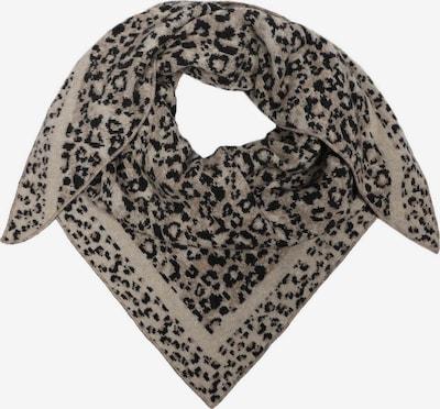 Zwillingsherz Tørklæde i antracit / uldhvid, Produktvisning