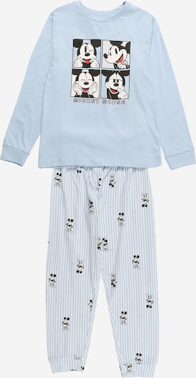OVS Pajamas in Light blue / Black / White, Item view