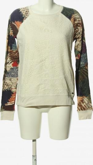 DENIM & SUPPLY Ralph Lauren Sweatshirt in XS in creme / rot / schwarz, Produktansicht
