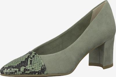 MARCO TOZZI Zapatos con plataforma en verde, Vista del producto