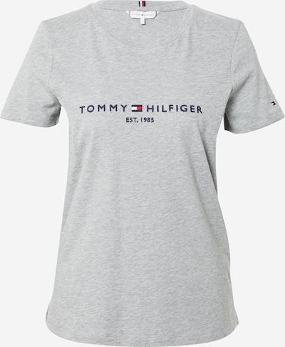 TOMMY HILFIGER Shirt in de kleur Grijs gemêleerd / Rood / Zwart / Wit, Productweergave