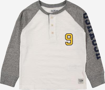 OshKosh Shirt in dunkelblau / gelb / grau / weiß, Produktansicht