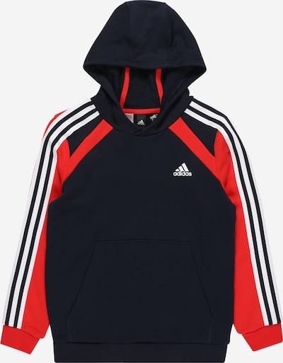 ADIDAS PERFORMANCE Sportsweatshirt in marine / rot / weiß, Produktansicht