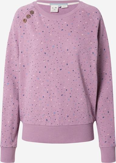 Ragwear Sweat-shirt 'JOHANKA' en bleu marine / bleu clair / violet / rose, Vue avec produit