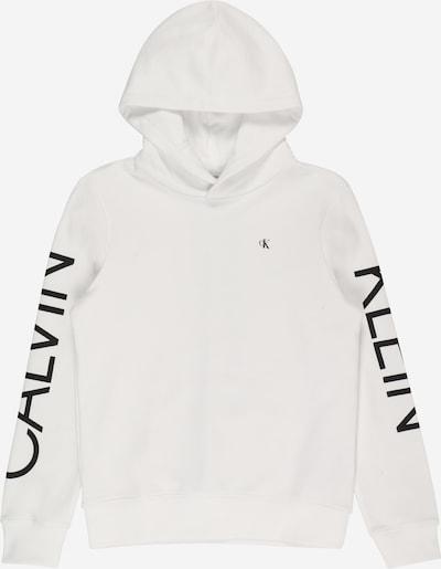 Calvin Klein Jeans Sudadera 'Hero' en negro / blanco, Vista del producto